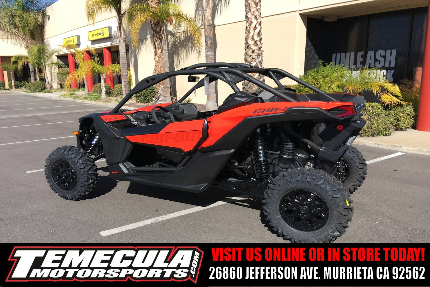 2018 Can-Am Maverick X3 900 HO in Murrieta, California