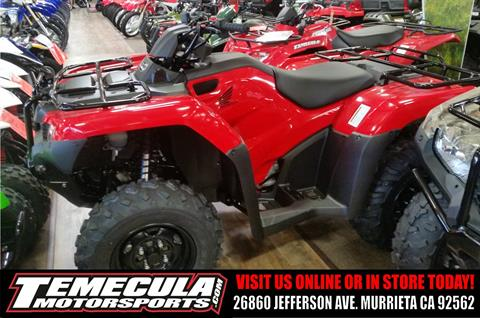 2017 Honda FourTrax Rancher in Murrieta, California