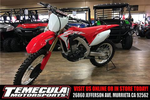 New 2018 Honda CRF450R Motorcycles in Murrieta, CA | Stock Number ...