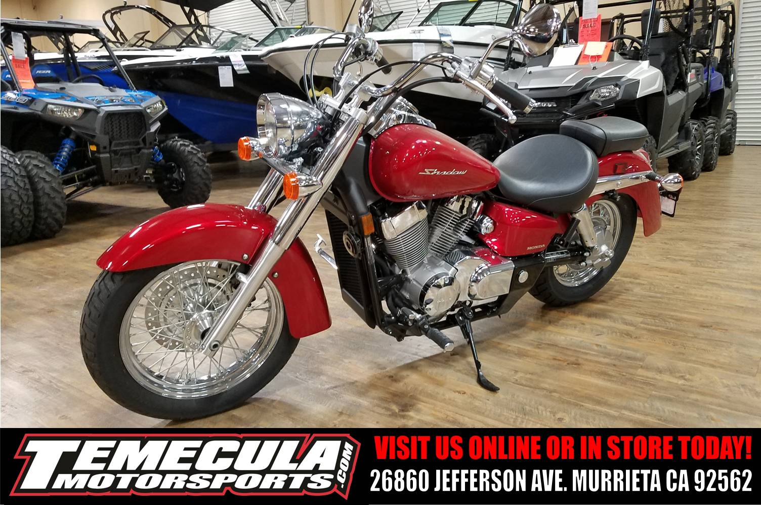 2016 Honda Shadow Aero in Murrieta, California