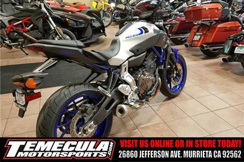 2016 Yamaha FZ-07 in Murrieta, California