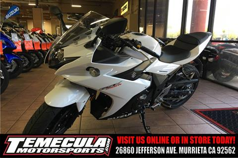 2018 Suzuki GSX250R in Murrieta, California