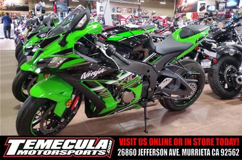 2016 Kawasaki Ninja ZX-10R KRT Edition in Murrieta, California