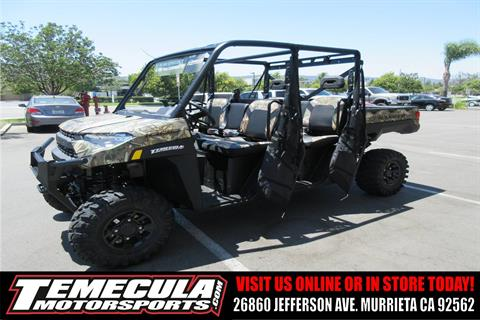 2019 Polaris Ranger Crew XP 1000 EPS Premium in Murrieta, California