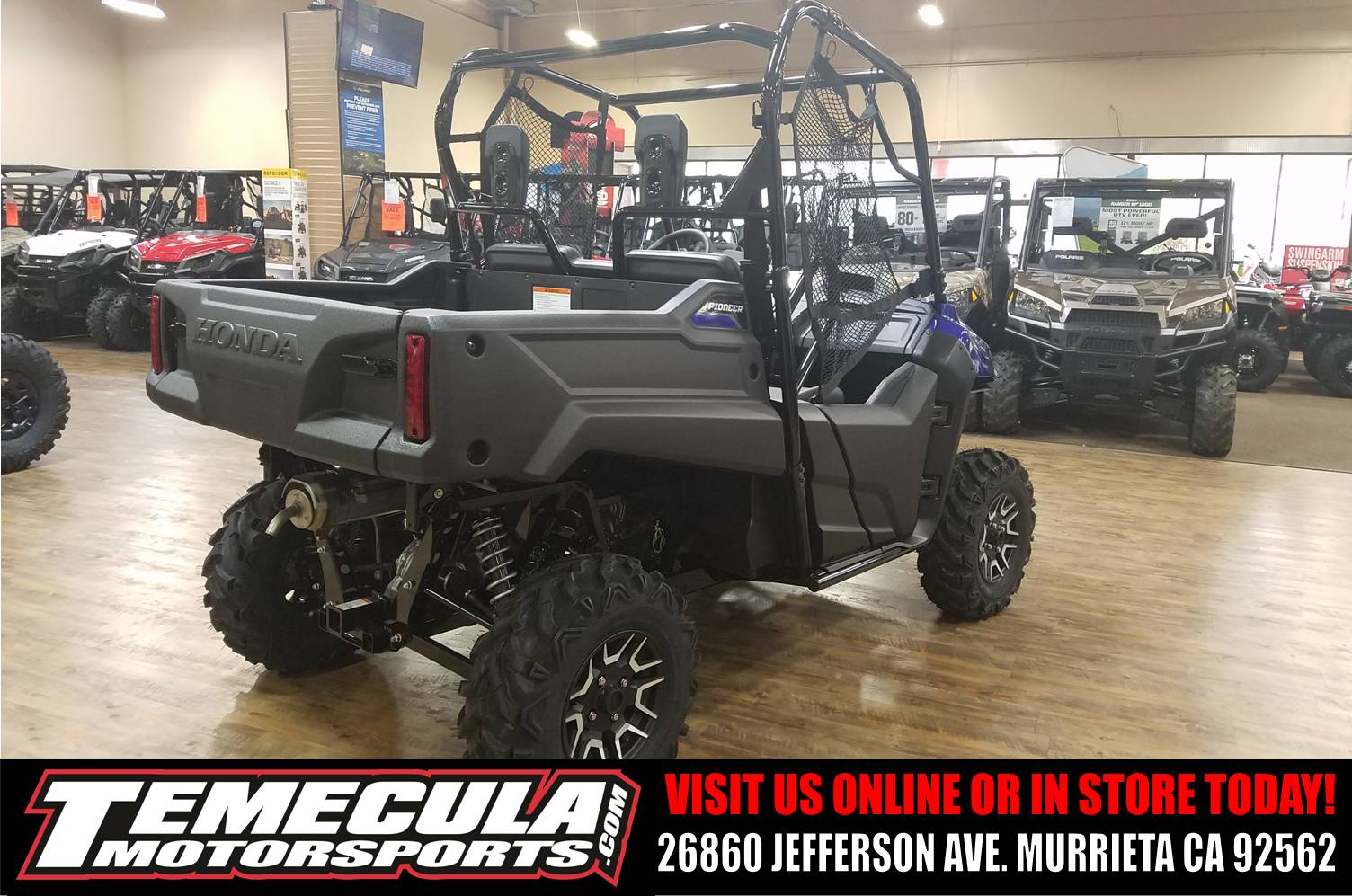2017 Honda Pioneer 700 Deluxe in Murrieta, California