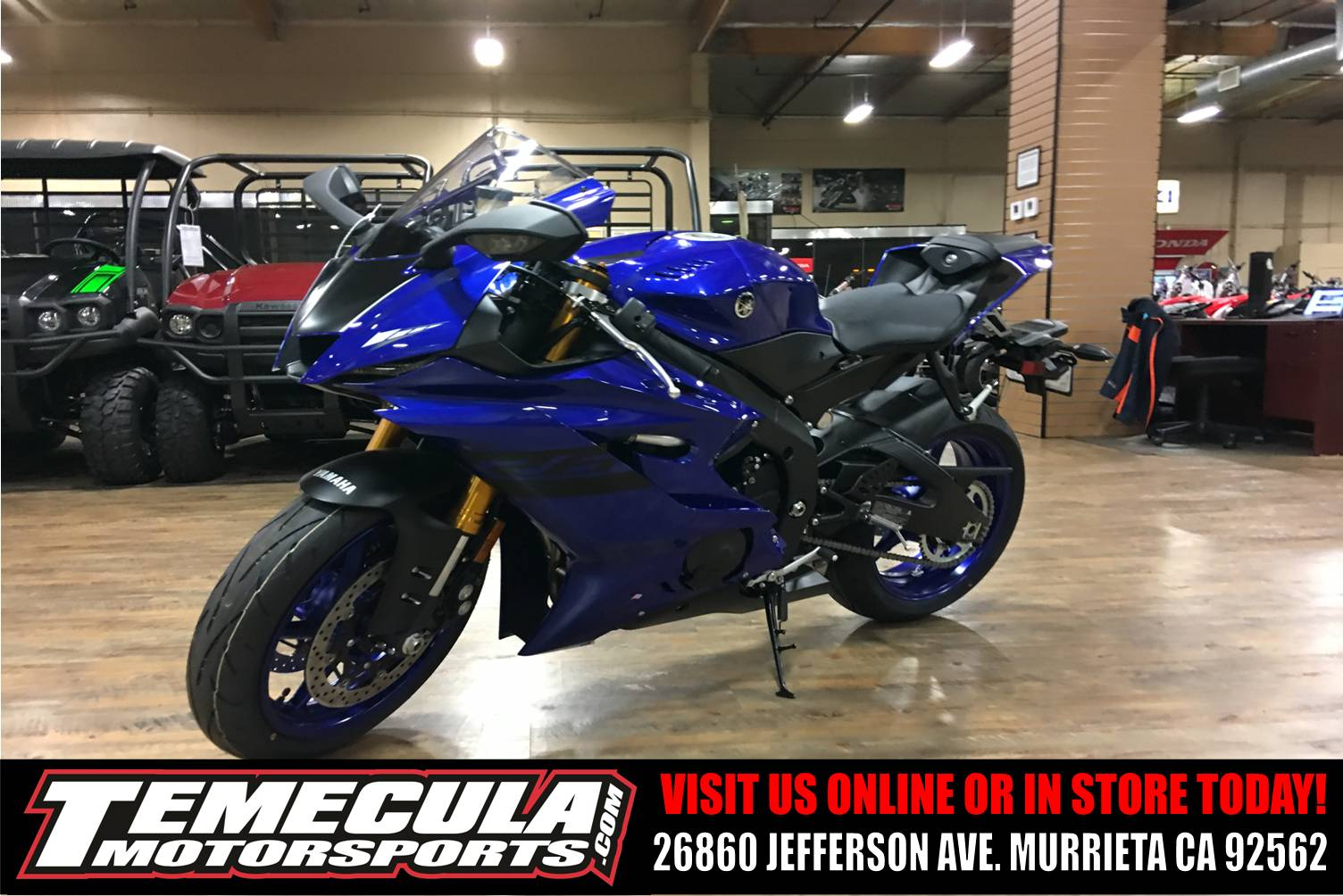 2018 Yamaha YZF-R6 in Murrieta, California