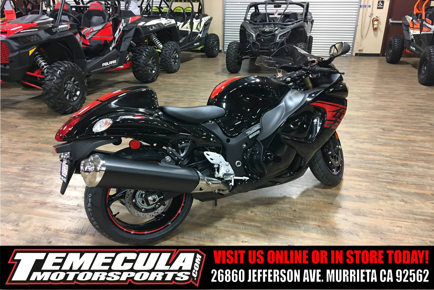 2018 Suzuki Hayabusa in Murrieta, California