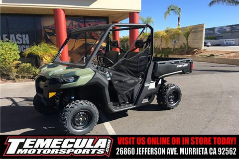 2018 Can-Am Defender HD5 in Murrieta, California