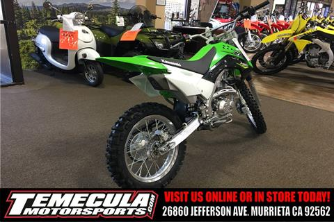 2018 Kawasaki KLX 140L in Murrieta, California