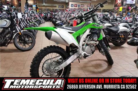 2017 Kawasaki KX450F in Murrieta, California