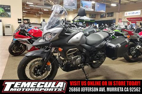 2015 Suzuki V-Strom 650 XT ABS in Murrieta, California