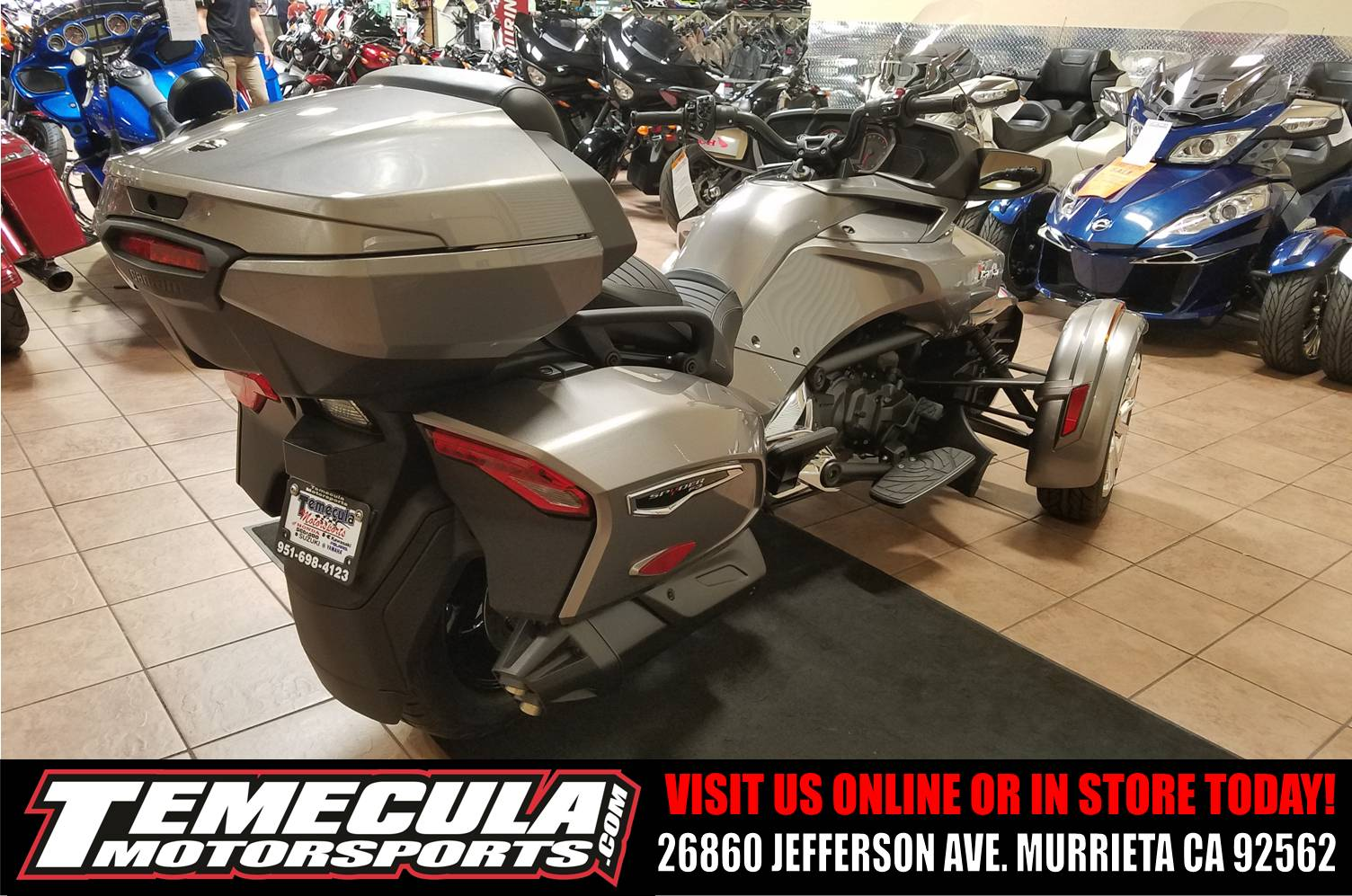 2017 Can-Am Spyder F3 Limited in Murrieta, California