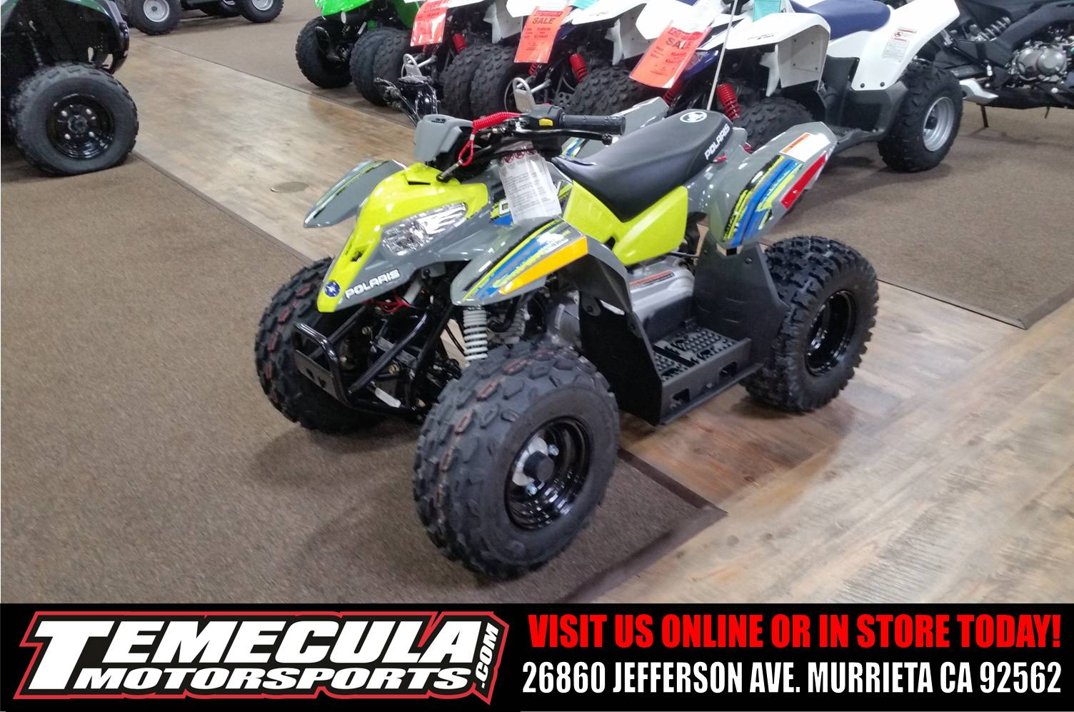 2018 Polaris Outlaw 50 in Murrieta, California