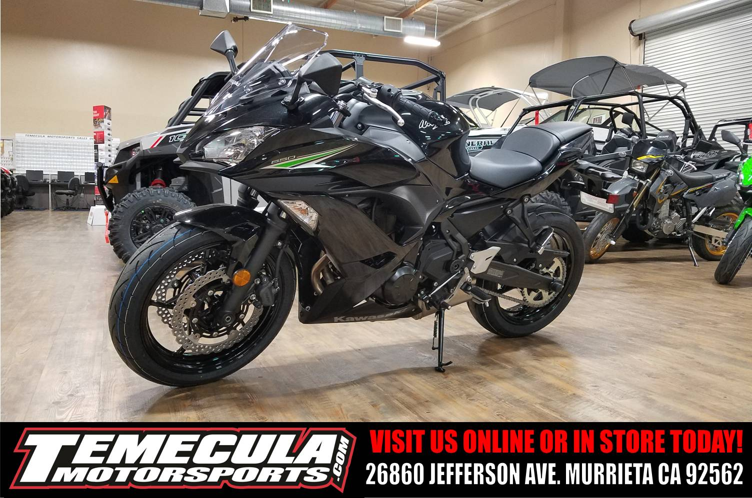 2017 Kawasaki Ninja 650 in Murrieta, California