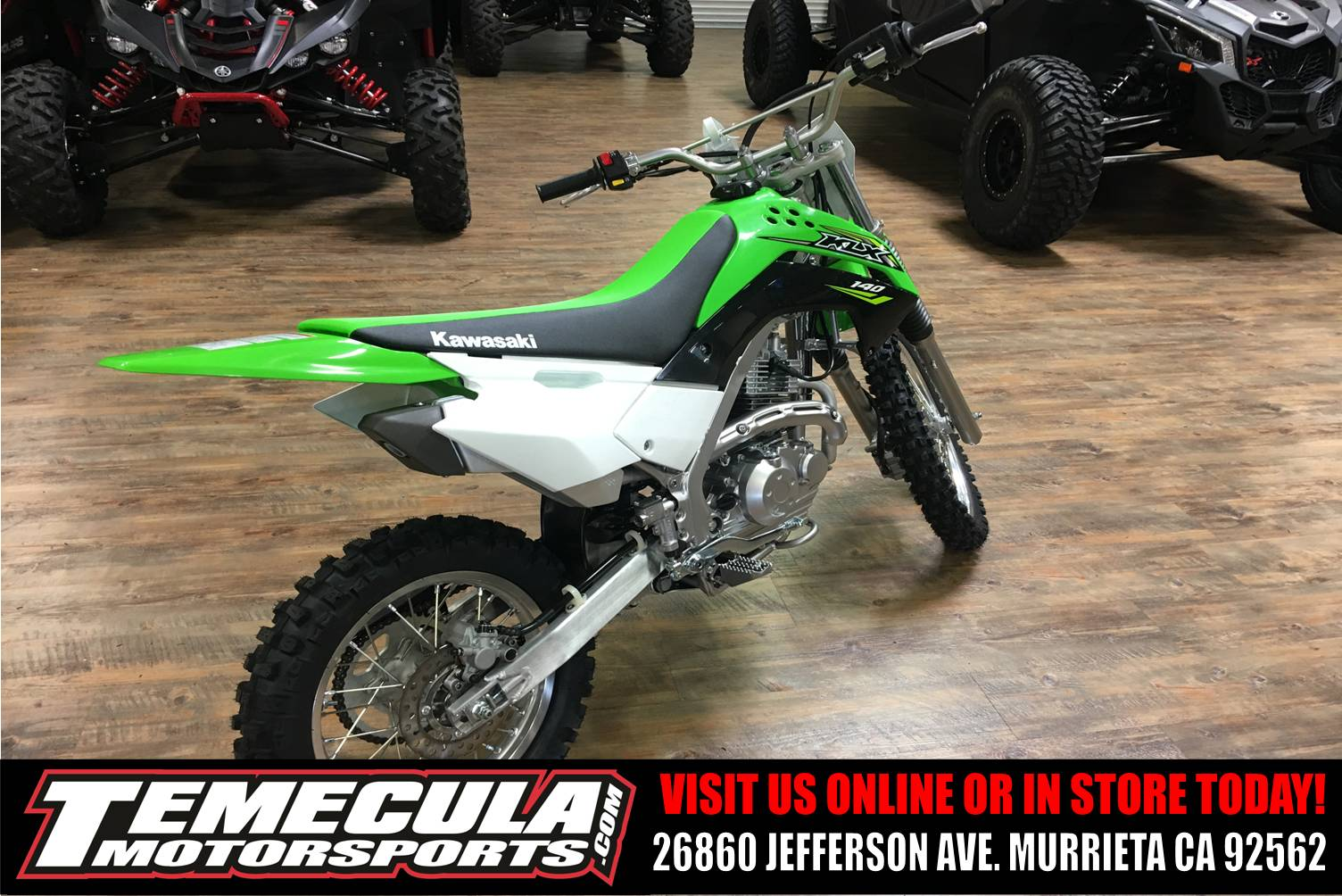 2018 Kawasaki KLX 140 in Murrieta, California