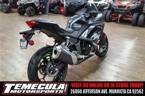 2017 Kawasaki Ninja 300 ABS Winter Test Edition in Murrieta, California