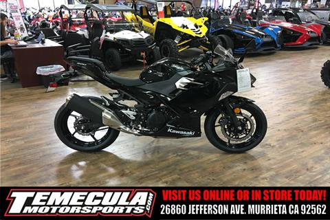 2018 Kawasaki Ninja 400 ABS in Murrieta, California