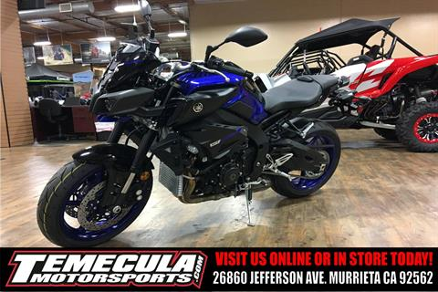 2018 Yamaha MT-10 in Murrieta, California