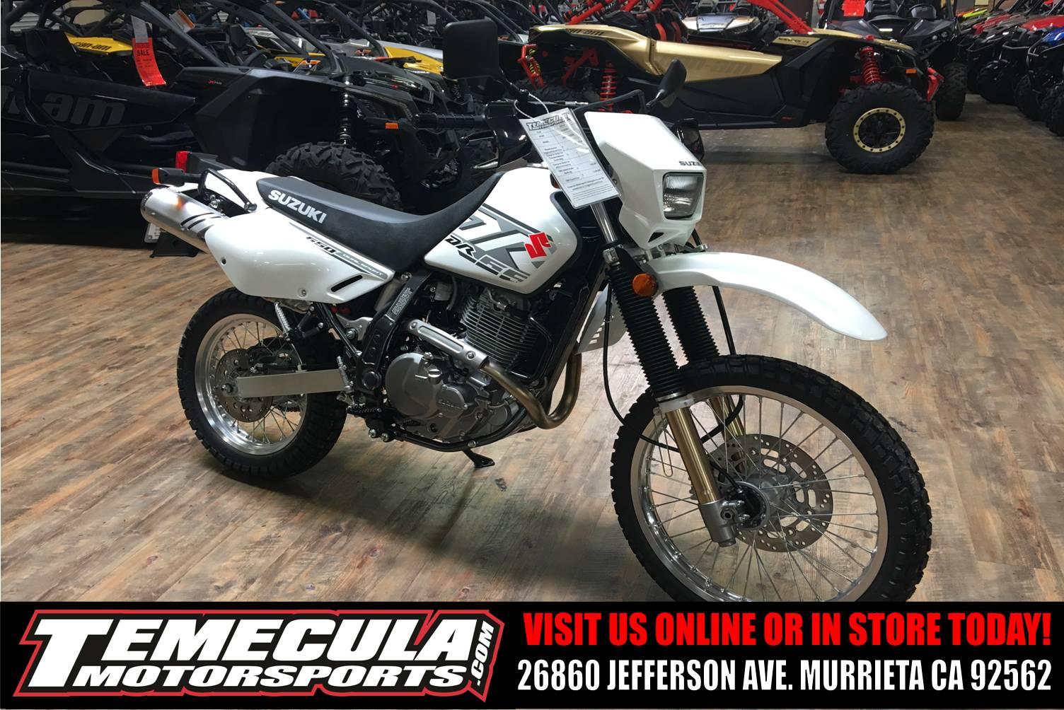 New 2018 Suzuki DR650S Motorcycles in Murrieta, CA | Stock Number ...