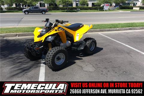 2016 Can-Am DS 250 in Murrieta, California