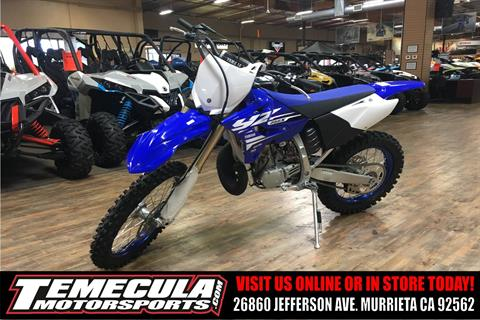 2018 Yamaha YZ250X in Murrieta, California