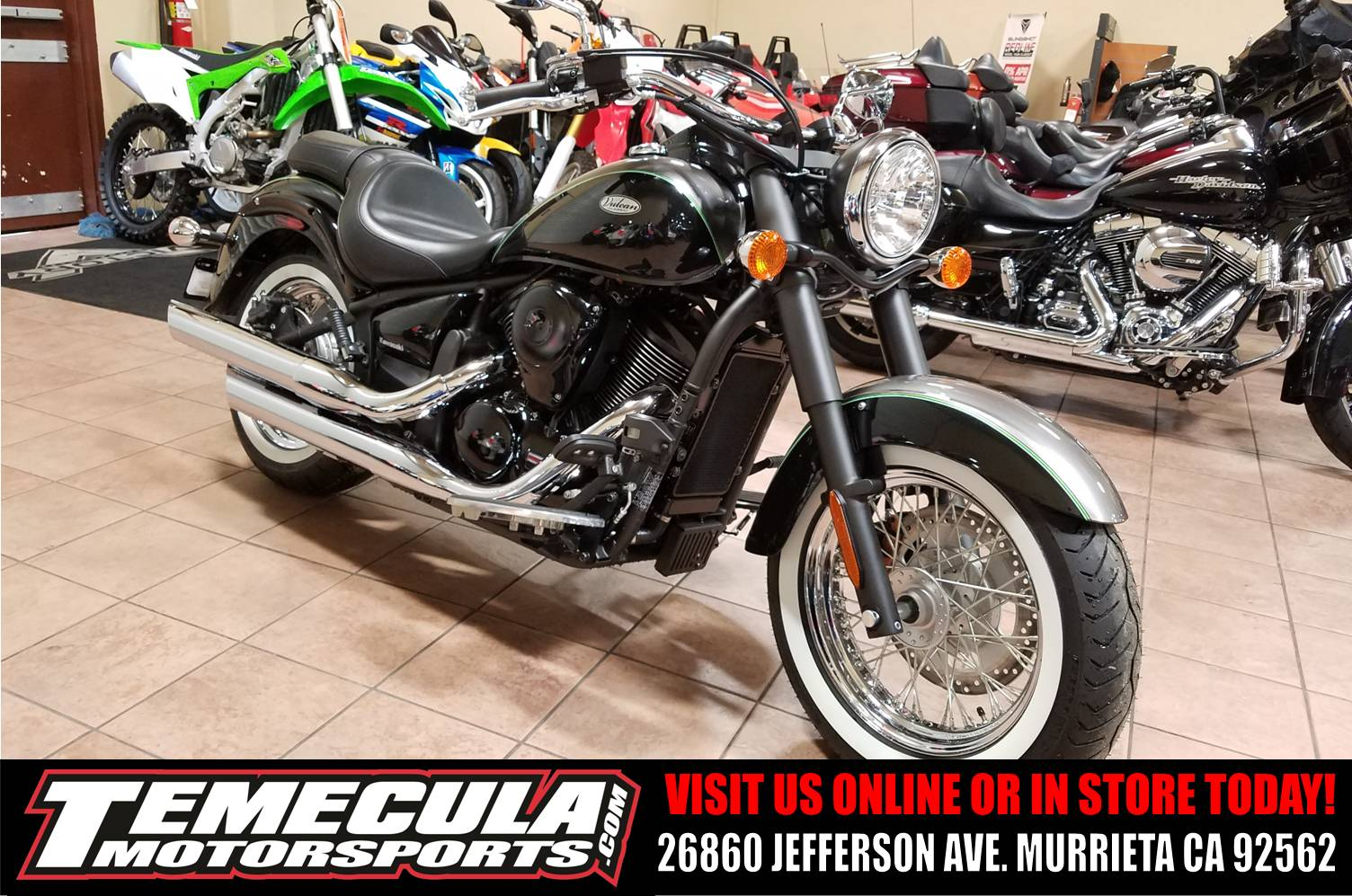 2017 Kawasaki Vulcan 900 Classic in Murrieta, California