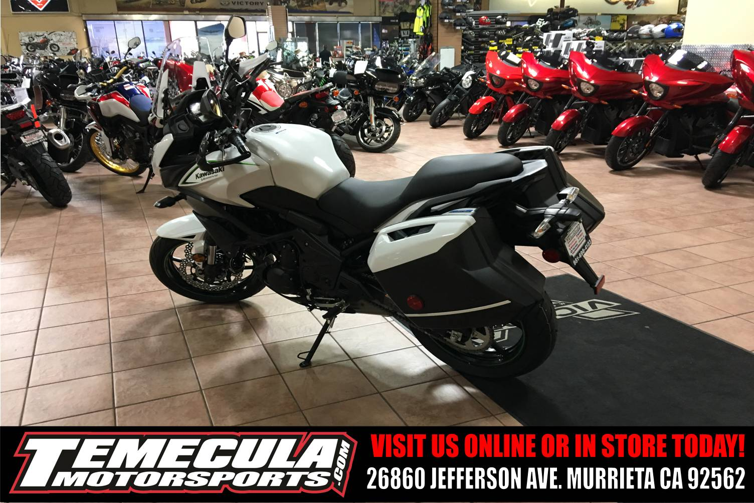 2018 Kawasaki Versys 650 LT in Murrieta, California