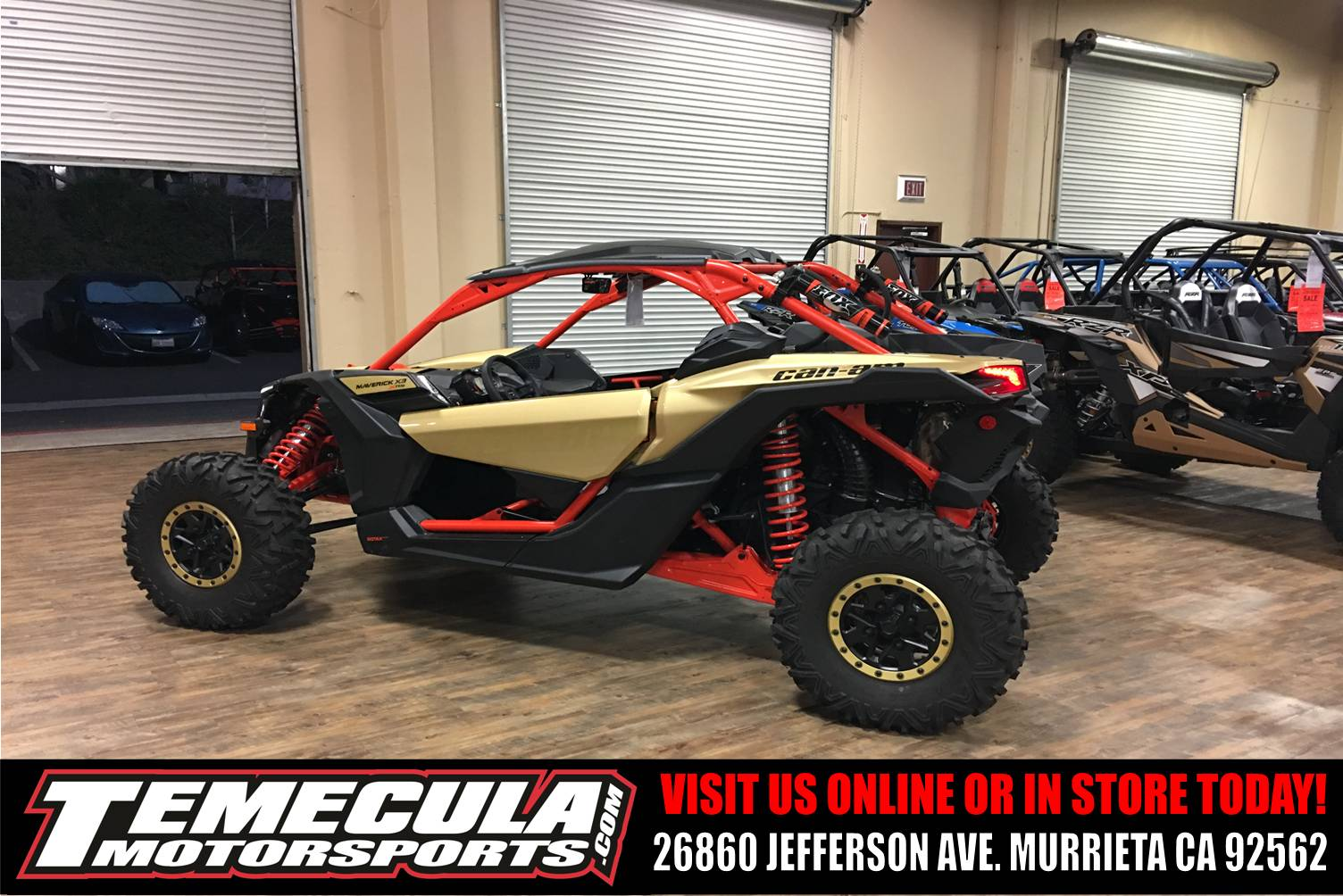 2018 Can-Am Maverick X3 X rs Turbo R in Murrieta, California