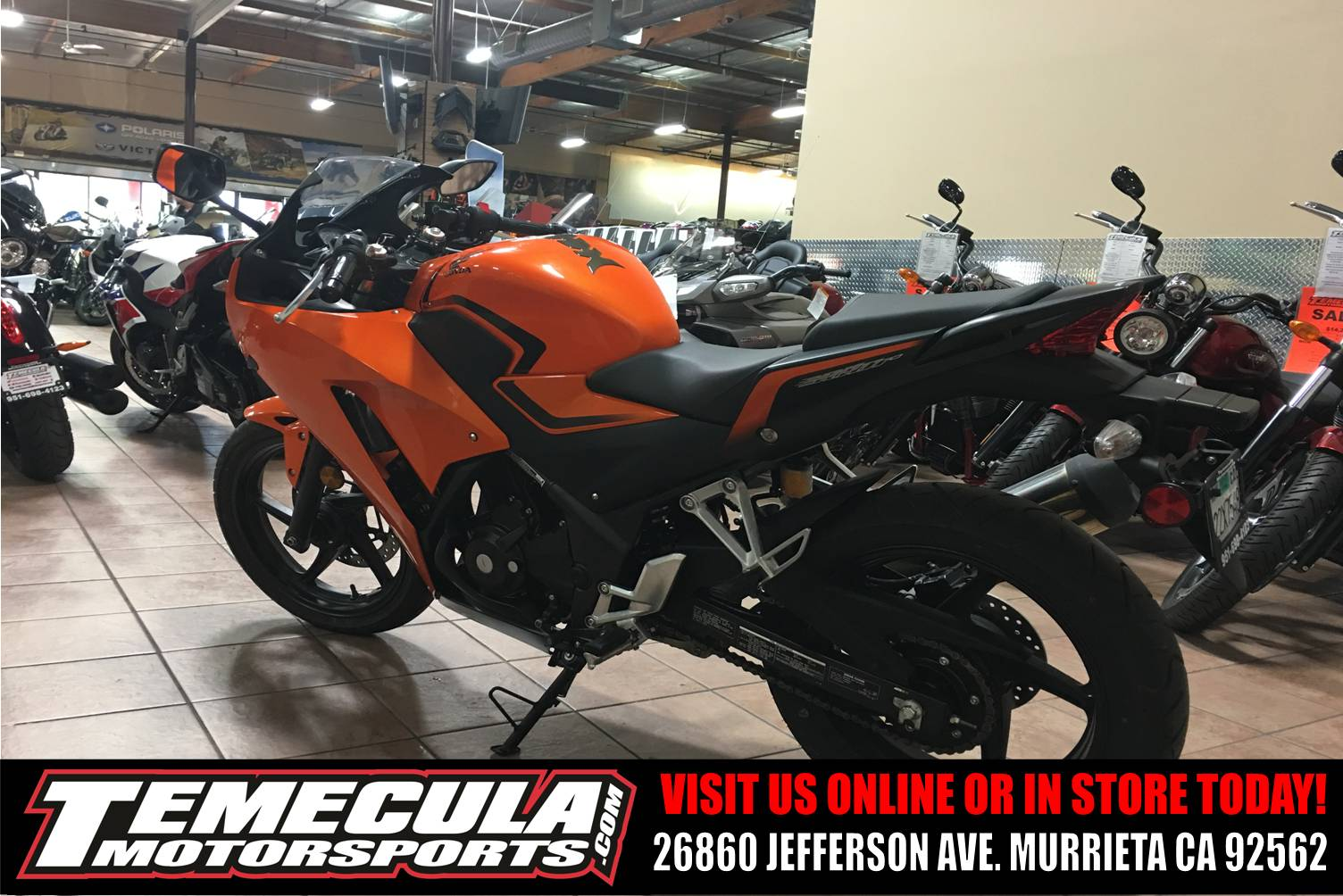 2016 Honda CBR300R in Murrieta, California