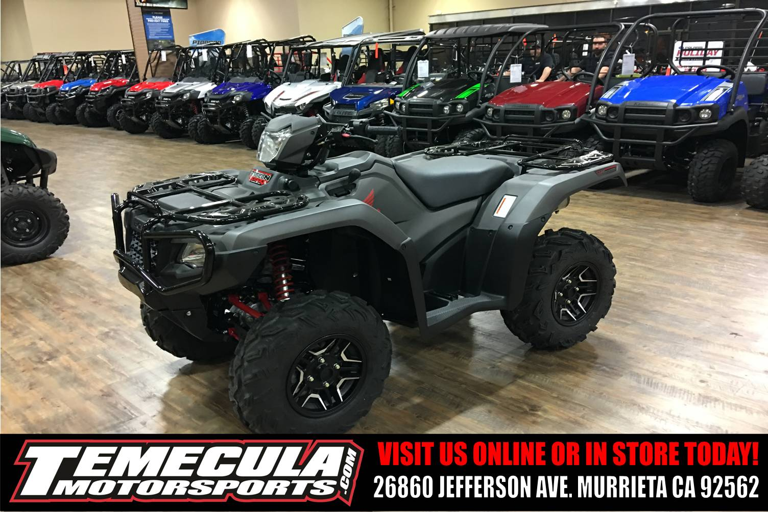 2018 Honda FourTrax Foreman Rubicon 4x4 Automatic DCT EPS Deluxe in Murrieta, California