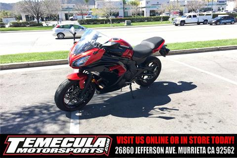 2016 Kawasaki Ninja 650 ABS in Murrieta, California