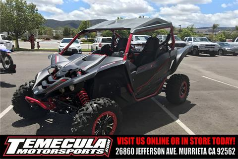 2017 Yamaha YXZ1000R SE in Murrieta, California