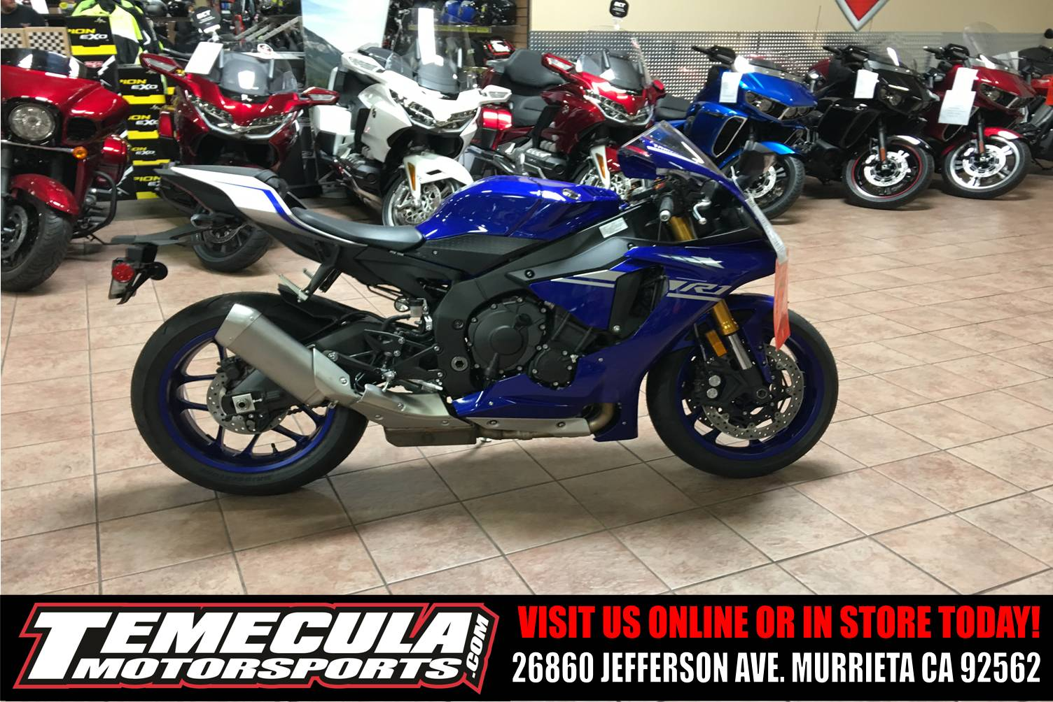 2017 Yamaha YZF-R1 in Murrieta, California