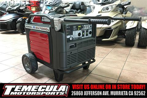 2017 Honda Power Equipment EU7000iS in Murrieta, California