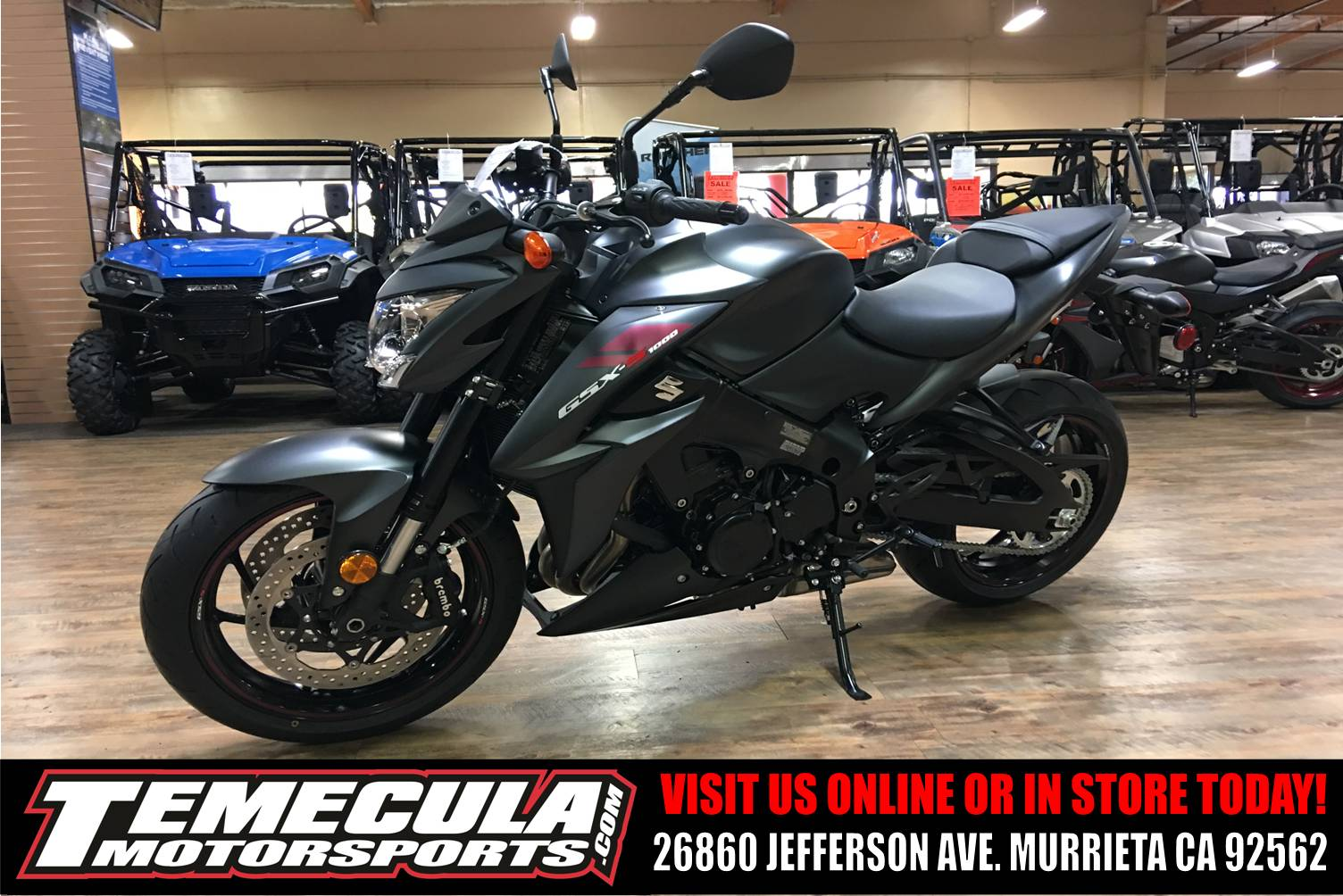 2018 Suzuki GSX-S1000Z in Murrieta, California