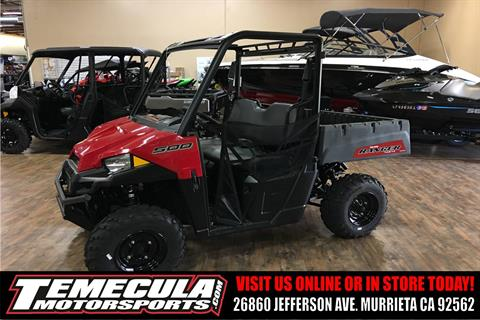 2018 Polaris Ranger 500 in Murrieta, California