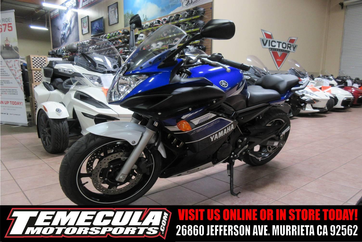 Used 2013 Yamaha FZ6R Motorcycles in Murrieta, CA | Stock Number ...
