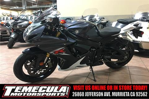 2015 Suzuki GSX-R750 in Murrieta, California