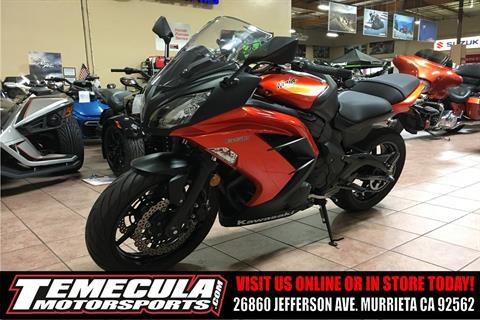 2014 Kawasaki Ninja® 650 in Murrieta, California