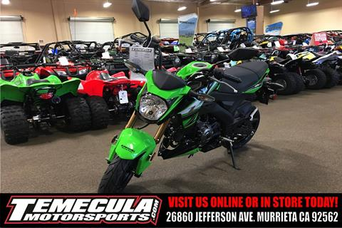 2018 Kawasaki Z125 Pro KRT Edition in Murrieta, California
