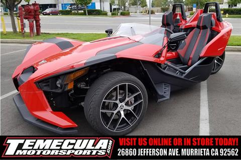2016 Slingshot Slingshot SL in Murrieta, California