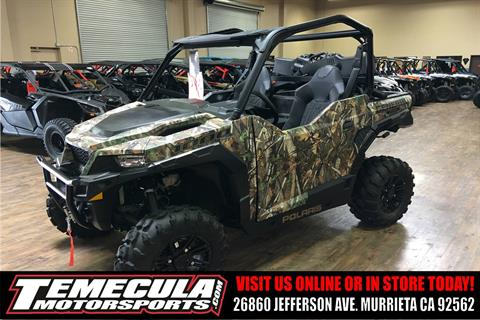 2018 Polaris General 1000 EPS Hunter Edition in Murrieta, California