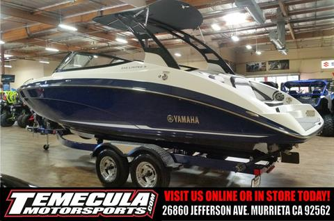 2017 Yamaha 242 Limited S in Murrieta, California