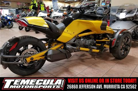 2017 Can-Am Spyder F3-S Daytona 500 SE6 in Murrieta, California