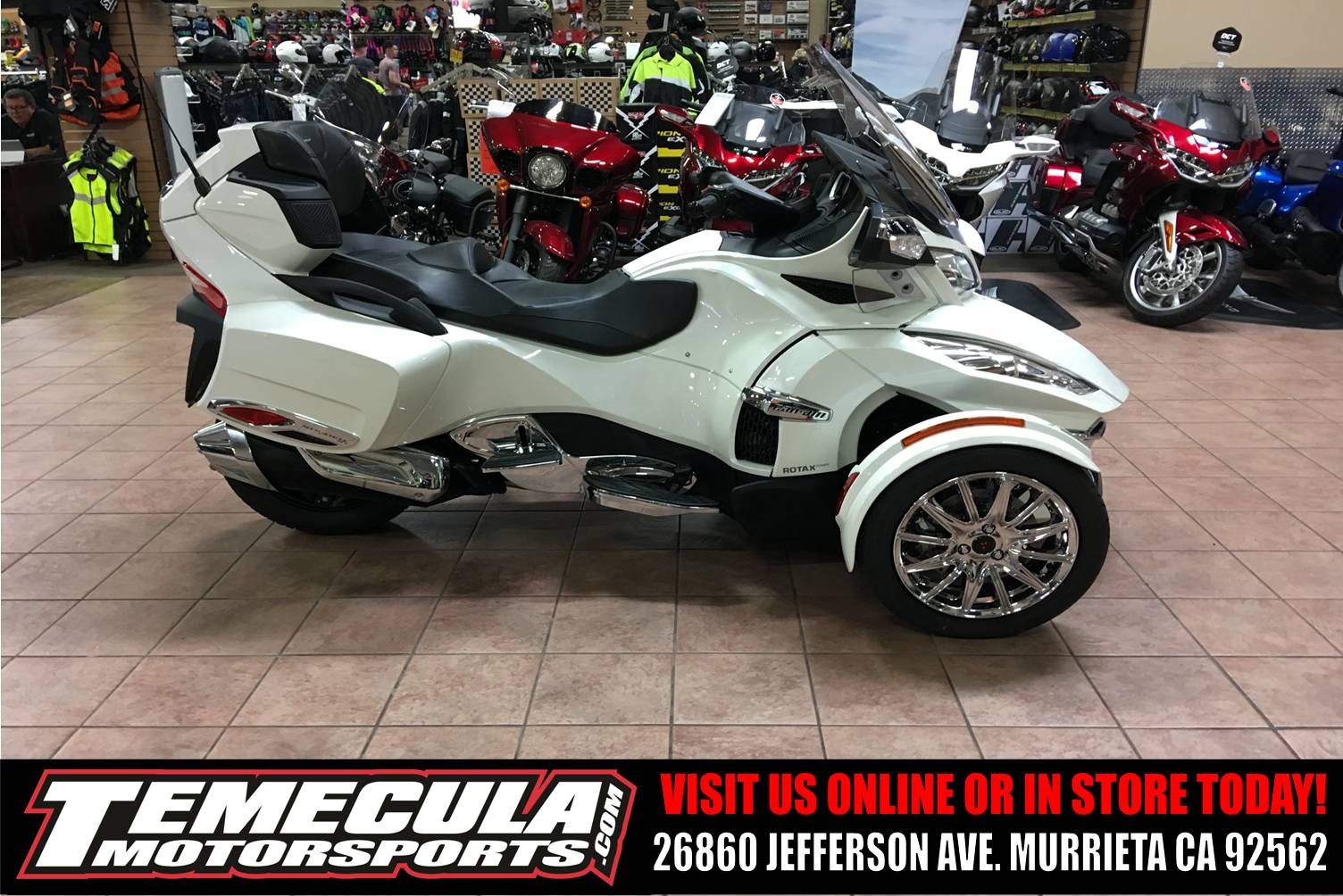 2018 Can-Am Spyder RT Limited in Murrieta, California