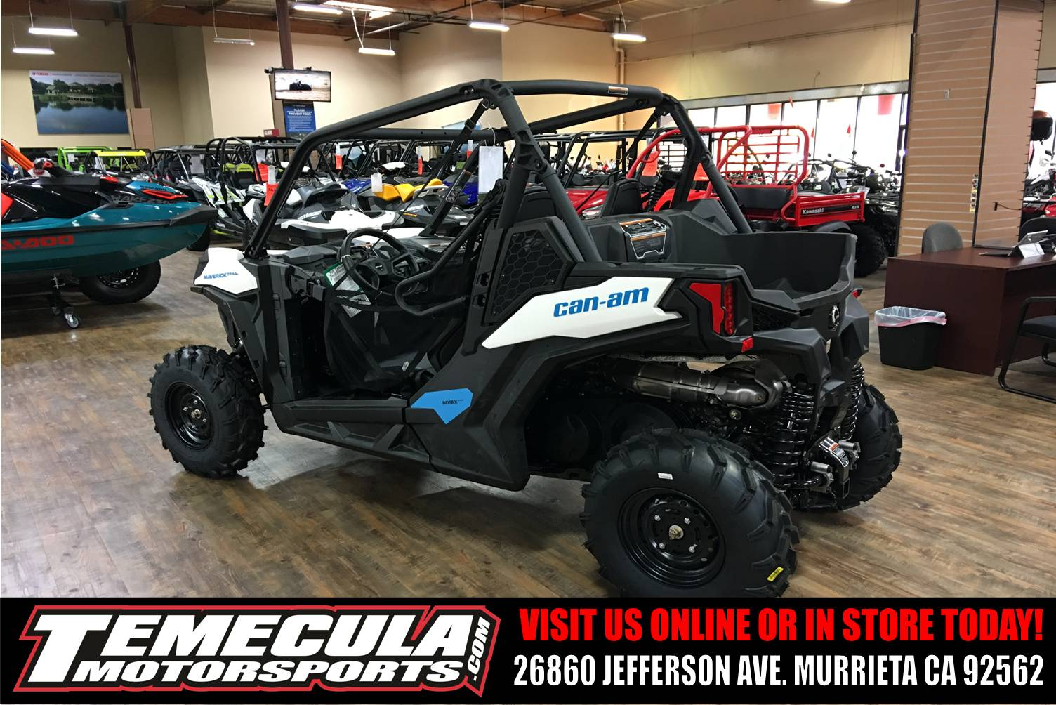 2018 Can-Am Maverick Trail 800 in Murrieta, California