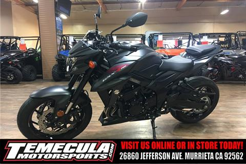 2018 Suzuki GSX-S750Z in Murrieta, California