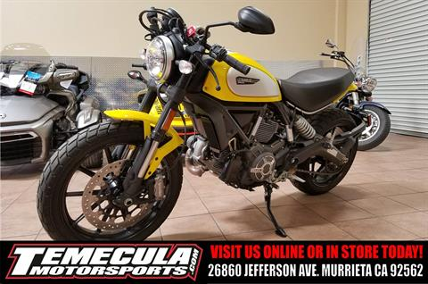 2015 Ducati Scrambler Icon in Murrieta, California