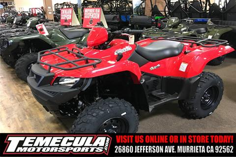 2018 Suzuki KingQuad 500AXi in Murrieta, California