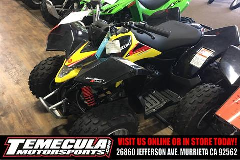 2017 Suzuki QuadSport Z90 in Murrieta, California